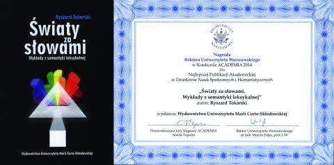 Nagroda dla Wydawnictwa UMCS
