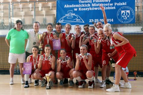 Koszykarki AZS UMCS Lublin wicemistrzem Polski!
