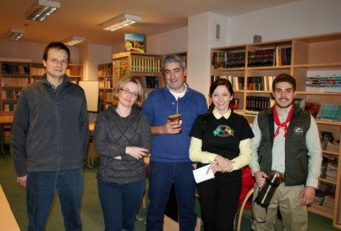 Spotkanie Pietra Führ ze studentami