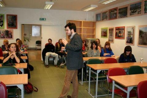 Cykl wykładów poświęcony językowi i kulturze Galicji...