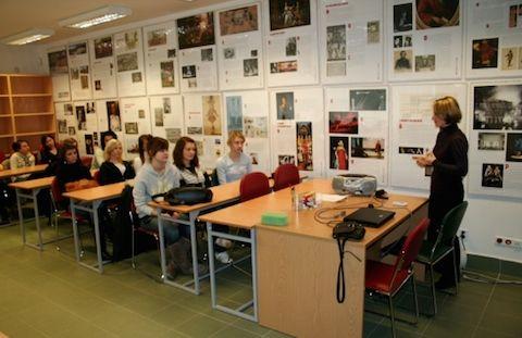 Visita dos alunos da Escola Secundária Maria Konopnicka...