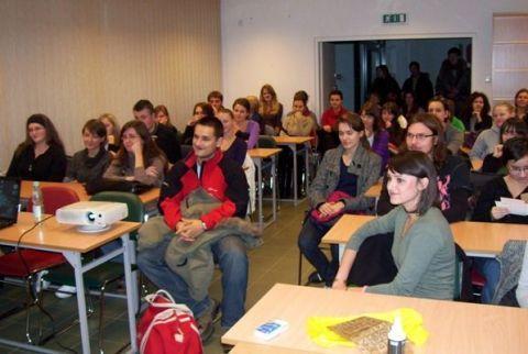 Encontro com os estudantes dos Estudos Ibéricos da UMCS -...