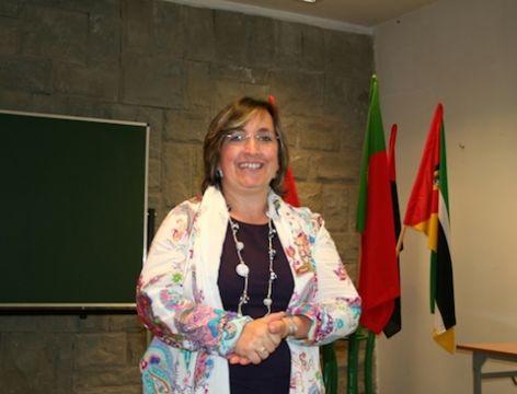 Palestra da Profa. Dra. Anabela Dinis Branco de Oliveira...