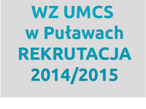 WZ UMCS w Puławach - przedłużone terminy rejestracji