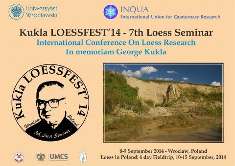 Kukla LOESSFEST '14 - 7th Loess Seminar