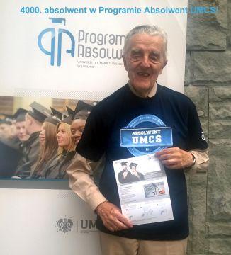 4000. absolwent w Programie Absolwent UMCS!