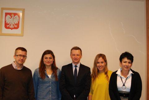 Studenci Erasmusa na Wydziale Ekonomicznym