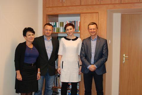 Spotkanie z przedstawicielami Herbapol-Lublin SA