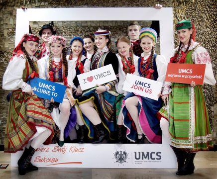 Zespół Tańca Ludowego Uniwersytetu Marii Curie-Skłodowskiej