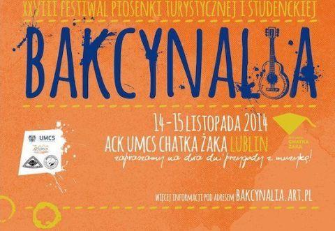 Bakcynalia 2014