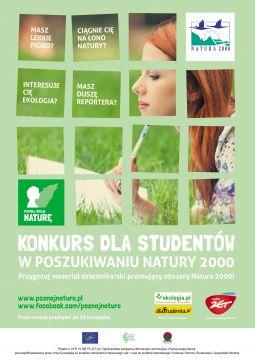 Konkurs dla studentów - 'W poszukiwaniu Natury...