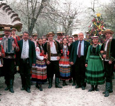 Koncert kolęd Zespołu Tańca Ludowego UMCS - 17.12.2014 r.