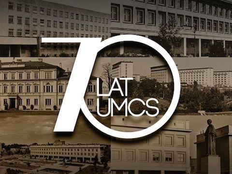 Jubileusz 70-lecia UMCS - list JM Rektora