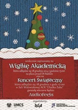Wigilia Akademicka i Koncert Świąteczny