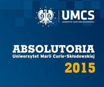 Harmonogram Absolutoriów UMCS 2015
