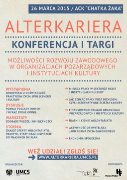 AlterKariera - konferencja i targi
