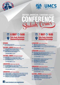 Students' Corner - 6-7 May 2015