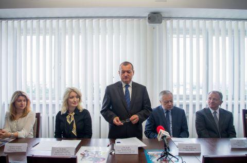 Konferencja prasowa zapowiadająca XII Lubelski Festiwal...