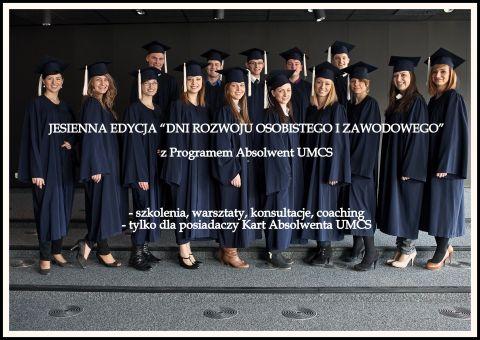 Dni rozwoju osobistego i zawodowego - zapisy do 17.11.15