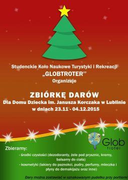 Zbiórka darów dla dzieci z Domu Dziecka im. Janusza...