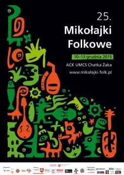 """XXV Festiwal Muzyki Ludowej """"Mikołajki Folkowe"""""""