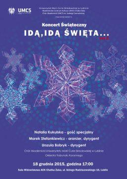 Natalia Kukulska na koncercie świątecznym w Chatce Żaka