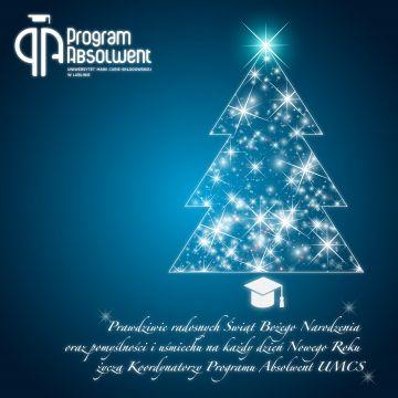 Życzenia od Programu Absolwent UMCS