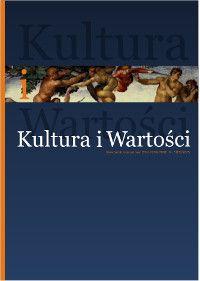 16. numer kwartalnika Kultura i Wartości