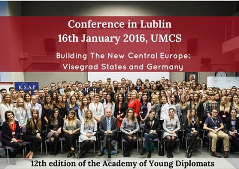 """Building The New Central Europe (...)""- konferencja"