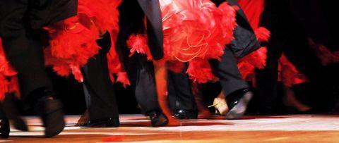Karnawałowe lekcje tańca - zaproszenie