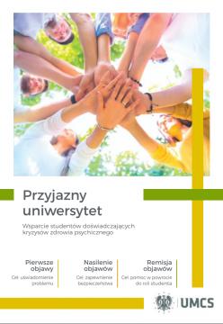 """""""Przyjazny Uniwersytet"""" - broszura informacyjna"""