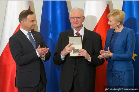 Nagroda Prezydenta RP dla Profesora Jerzego Bartmińskiego
