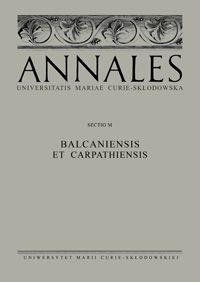 Nowe czasopismo - Annales UMCS  Sectio M