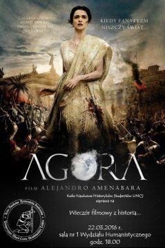 """""""Agora"""" czyli Wieczór Filmowy z Historią"""