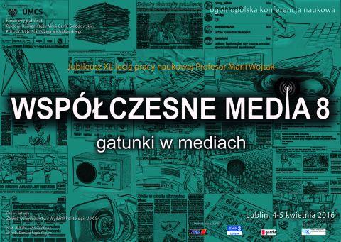 Współczesne media – zaproszenie na konferencję
