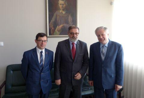 Wizyta Krzysztofa Stanowskiego na UMCS