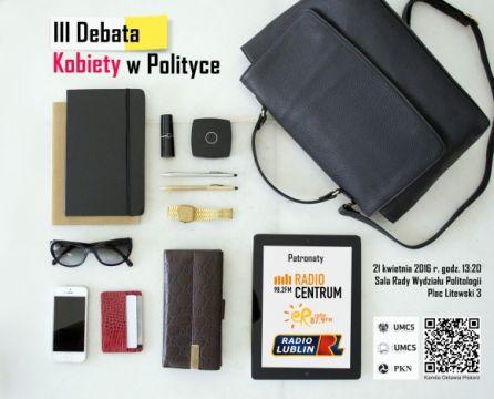 Kobiety w polityce – zaproszenie na debatę!