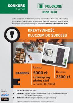 """""""Kreatywność kluczem do sukcesu"""" - konkurs"""