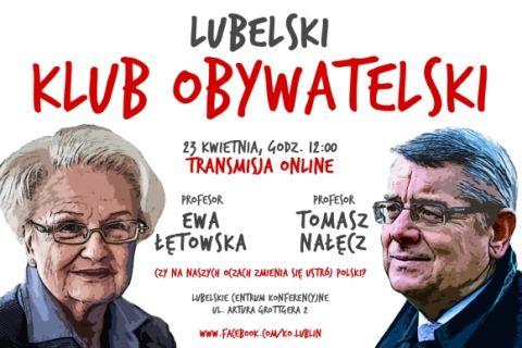 Lubelski Klub Obywatelski – zaprasza!