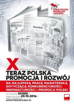 """""""Teraz Polska Promocja i Rozwój"""" – konkurs na najlepszą..."""