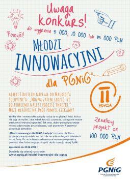 Młodzi Innowacyjni dla PGNiG - II edycja
