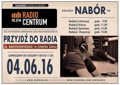 Radio Centrum invitation to cooperation