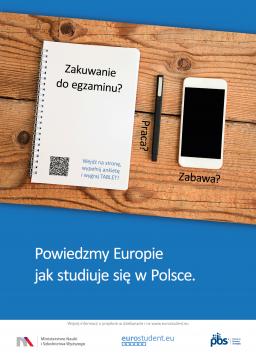 Powiedzmy Europie jak studiuje się w Polsce!