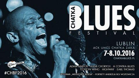 Chatka Blues Festival w Lublinie 7-8 października 2016