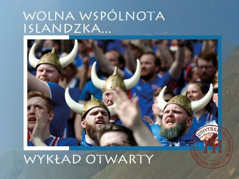 """""""Wolna Wspólnota Islandzka..."""" wykład prof...."""