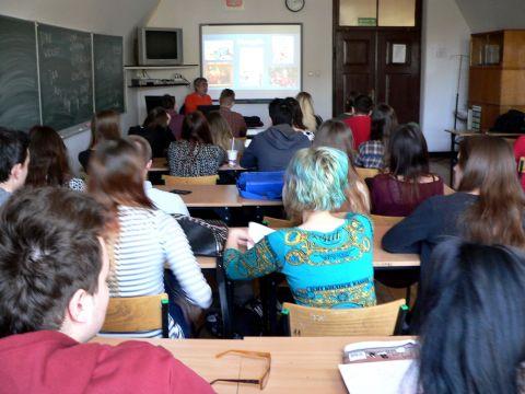 Wizyty w szkołach województwa lubelskiego