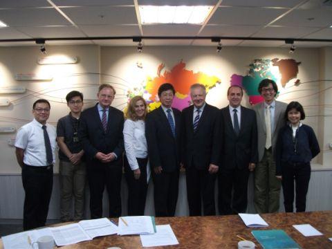 Wizyta delegacji UMCS na Tajwanie