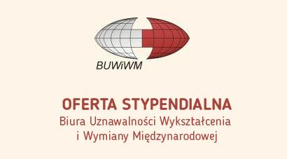 Stypendia BUWiWM