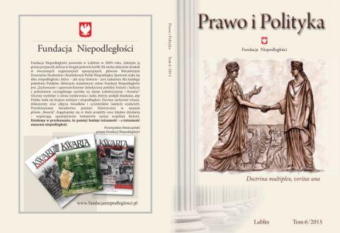 """Nowy numer czasopisma naukowego """"Prawo i Polityka"""""""