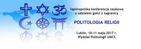 Politologia religii - ogólnopolska konferencja naukowa z...